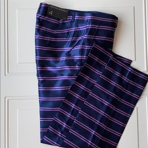 NWT Banana Republic Ryan Fit Silk Pants SZ 4